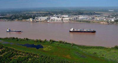 La arena sacada del río Paraná para el paso de la soja se usará en Vaca Muerta