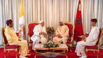 """Prófugos; el Papa en Marruecos: """"Basta expulsiones de masa"""""""