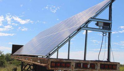 Comienzan a producir energía para riego con paneles fotovoltaicos