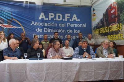 """Adrián Silva: """"El gobierno va por los derechos, por los sindicatos que son los que posibilitan la contención a los compañeros"""""""