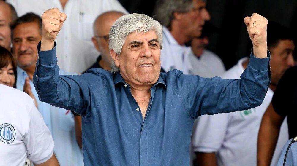 "Hugo Moyano: ""Mucha gente me pide que me presente a presidente"""