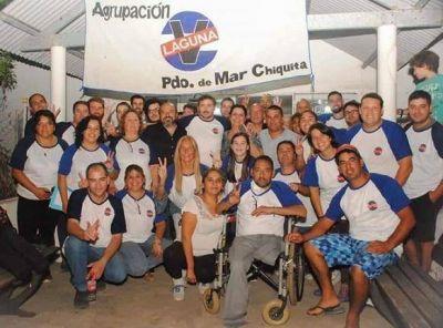 "Mar Chiquita: Mientras Paredi vieja por el mundo, presentan la Agrupacion Laguna. ""Su Plan B"""