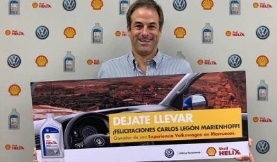 """Shell Helix llevó a Marruecos al ganador de la promo """"Dejate Llevar"""""""