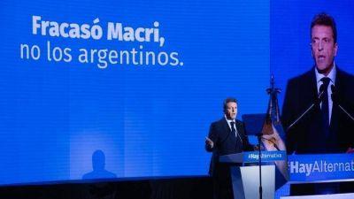 Sergio Massa confirmó su candidatura a presidente, hizo autocrítica sobre su pasado y le envió un mensaje a Roberto Lavagna