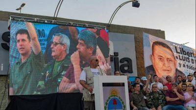 Con la presencia de Pablo Moyano, Santiago Cúneo lanzó su candidatura a gobernador bonaerense