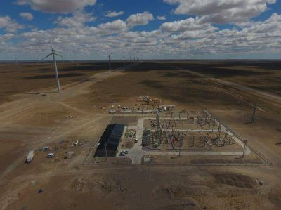 Santa Cruz Argentina: Nuevo parque de energía eólica en ya esta funcionando