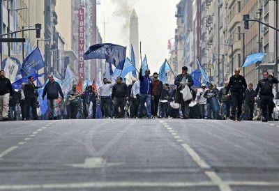 Tránsito: Jueves de marchas y protestas