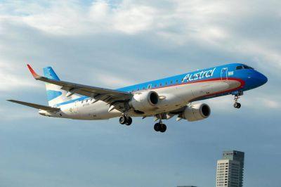 Aeronavegantes logró mantener tres tripulantes de cabina para la operación del Embraer en Austral