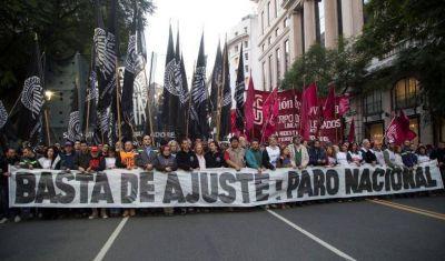 El sindicalismo de izquierda se corta de la CGT y va a Plaza de Mayo
