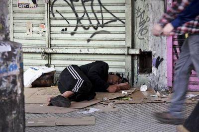 Más de 110 mil personas cayeron en la pobreza en 2018 en la Ciudad de Buenos Aires