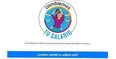 """Lanzan una calculadora online para evaluar la pérdida del poder adquisitivo del salario en la """"era Macri"""""""