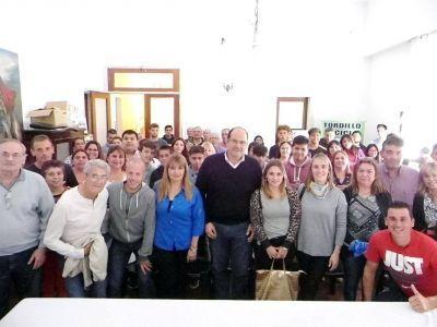 Intendente Olivera presentó los talleres culturales, las escuelas deportivas y los cursos de producción