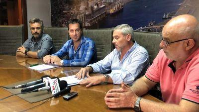 Puerto Quequén: Se firmó el contrato para la actualización de la red contra incendios