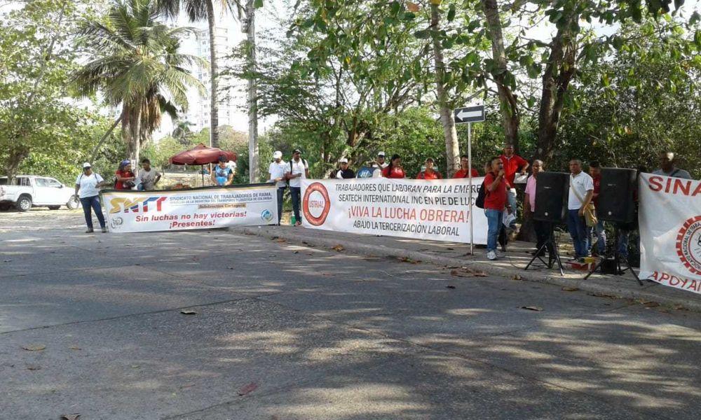 Colombia: La ITF apoya paro de trabajadores de la SNTT ante despidos