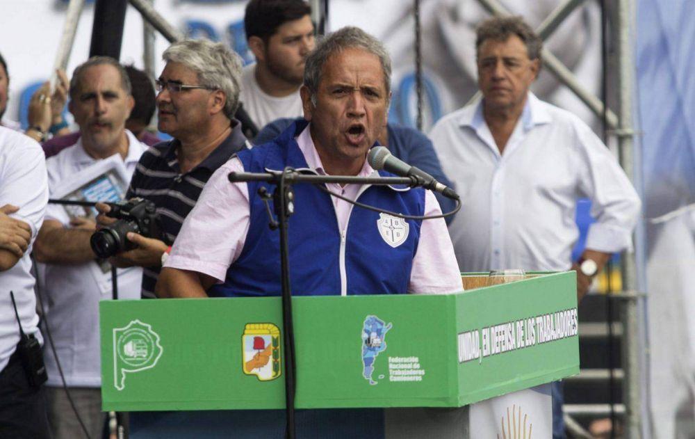 """Sergio Palazzo: """"Las condiciones para un paro general están re contra dadas"""""""