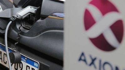 AXION instalará cargadores para autos eléctricos en sus nuevas estaciones de servicio