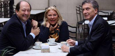 Macri y los radicales: citas clandestinas y gestos a Sanz y Carrió para que haya paz