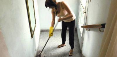 Acuerdan otro 15% de aumento para el personal doméstico desde abril
