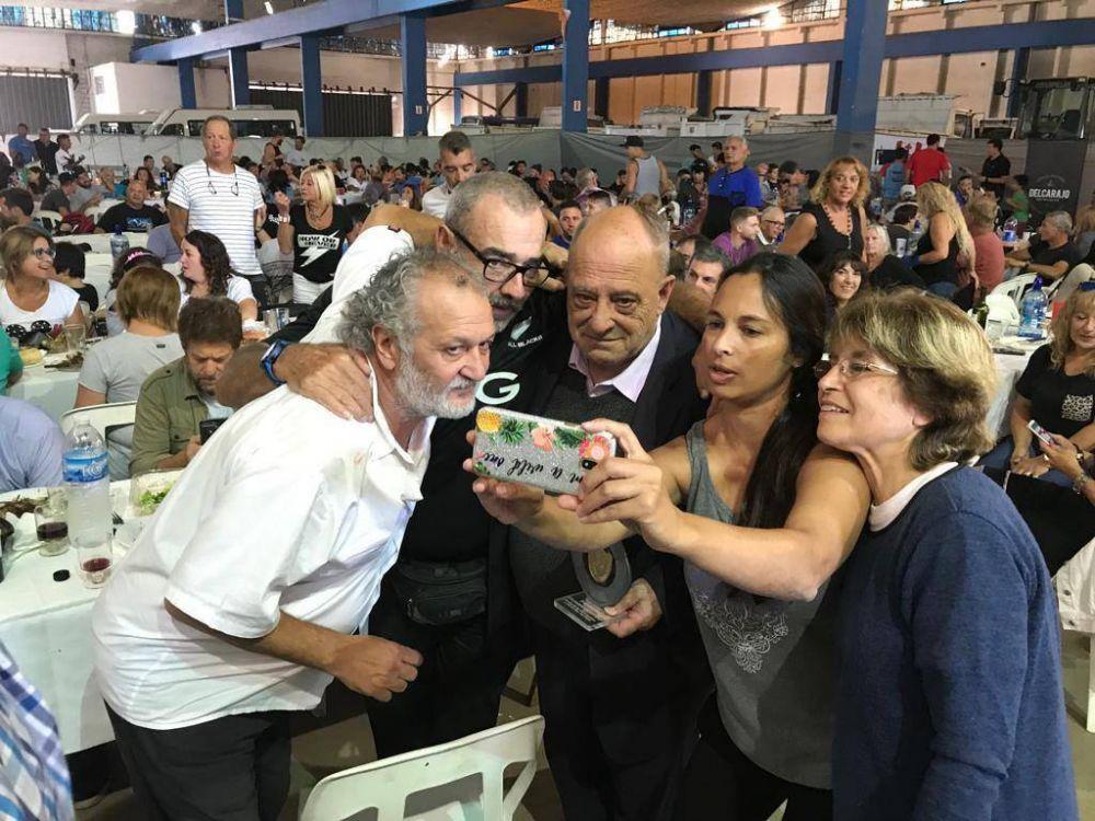 El Sindicato de Guardavidas distinguió al Intendente Arroyo