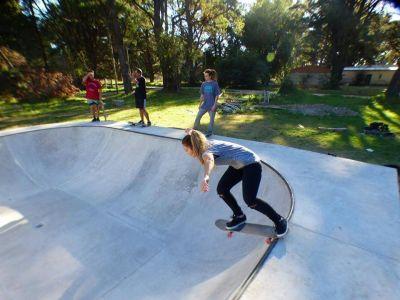 El bowl de skate en la Villa del Deportista será inaugurado el 21 de abril
