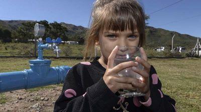 Huerta Grande: Ampliaron la red de agua potable
