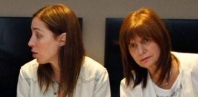 """Con aval de María Eugenia Vidal, Patricia Bullrich baja al Conurbano """"para ayudar al Presidente"""""""