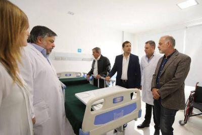 Juan Pablo de Jesus inauguró la ampliación del Hospital Municipal de Mar de Ajó