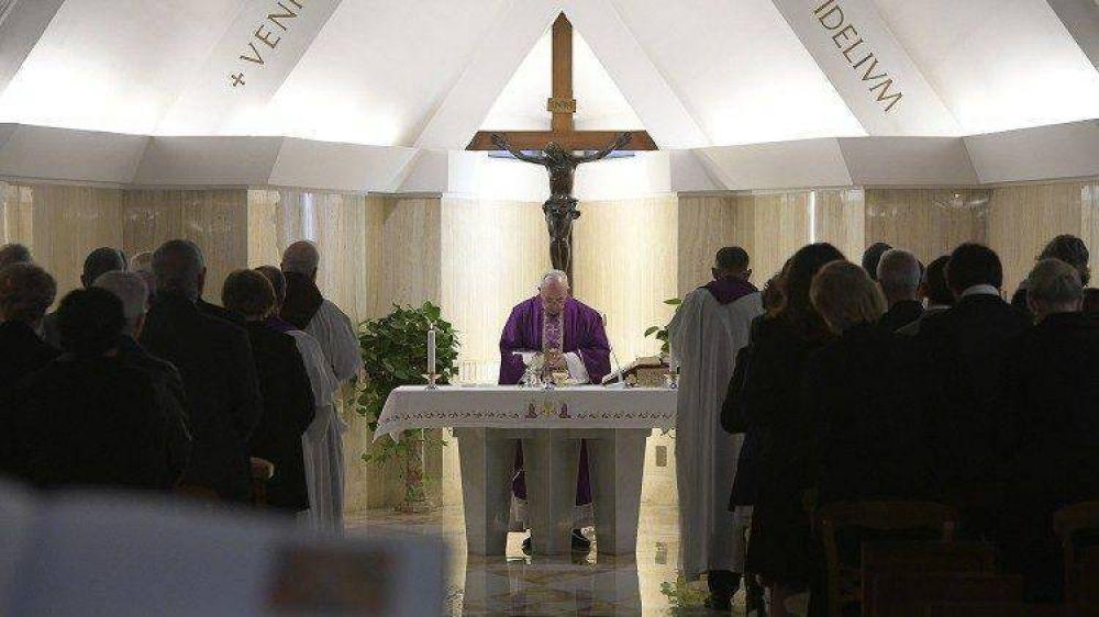 Homilía del Papa: ceder ante el fracaso es la desolación cristiana