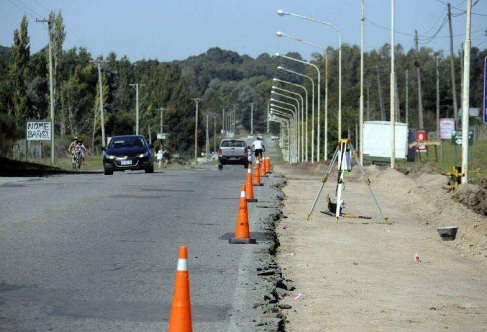 Se inició un nuevo frente de obras en avenida Don Bosco y Lunghi resaltó la inversión récord en pavimento