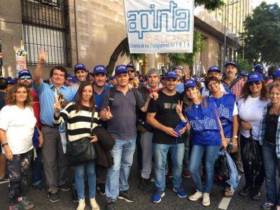 Trabajadores del INTA Balcarce en marcha nacional contra el ajuste