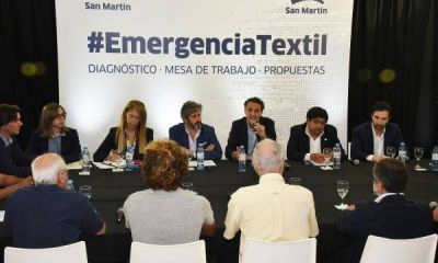 Katopodis reunió a representantes de la industria textil por la crisis del sector