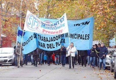 Fuerte molestia de los municipales por el regreso del pago de salarios en cuotas