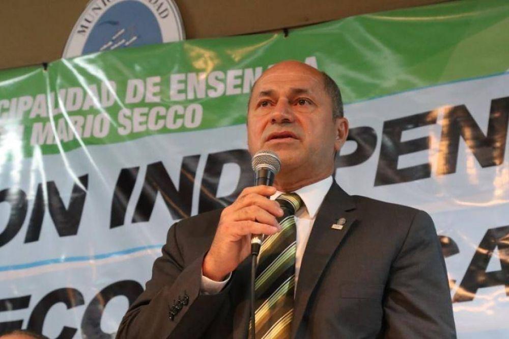 """Piden elevar a juicio la causa que involucra a Mario Secco por supuesta """"coacción agravada"""""""