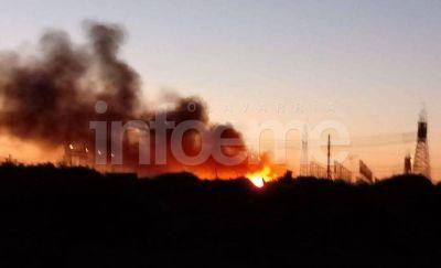 Aclaran intervención por un incendio en el basural detrás de la Virgen de la Loma