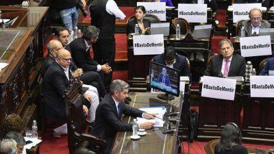 Marcos Peña confrontó con el kirchnerismo en la Cámara de Diputados y volvió a pronosticar que Macri será reelecto