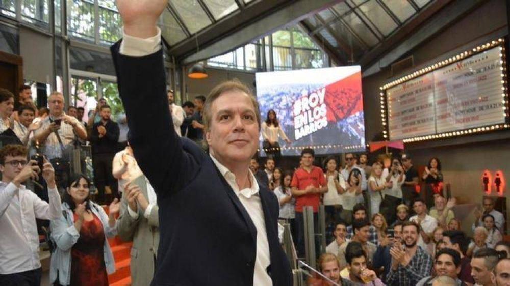 El socialista Roy Cortina lanzó su candidatura a jefe de Gobierno porteño