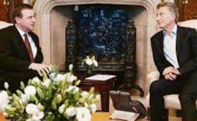 Macri recibió a Exxon Mobil