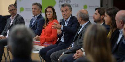 María Eugenia Vidal se abraza a Mauricio Macri y bloquea una alquimia peronista