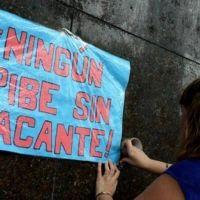 Los docentes movilizan para denunciar que Larreta dejó 22 mil chicos sin vacantes