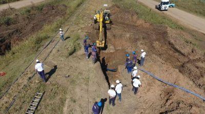 Santo Tomé: Reparan el Acueducto Desvío Arijón
