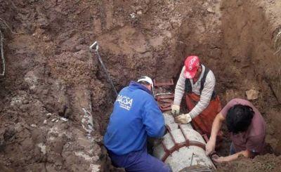 Con piezas fabricadas por DAGSA reparan el acueducto local
