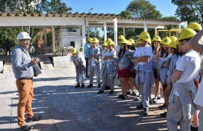 SAMEEP inauguró su ciclo de visitas a la planta potabilizadora