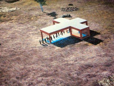 Inicia la construcción del refugio de la Virgen de la Cobrera Redacción