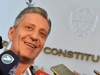 """Según Arcioni, Menna quedó """"fuera de la discusión"""""""