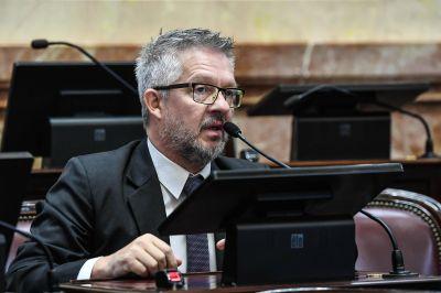 """Ojeda: """"Las obras concretadas por el gobierno de Bertone no son de la generosidad del Gobierno Nacional"""""""