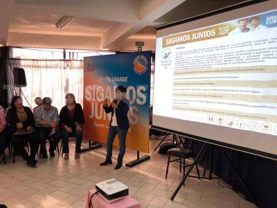 Analía Cubino presentó su plataforma de Gobierno para la intendencia de Río Grande