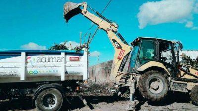 Riachuelo: ya se recolectaron 3.200 toneladas de basura en lo que va del año