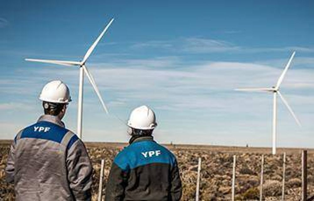 Argentina con más energía limpia YPF suplirá con eólica a empresas CLAD y ENOD