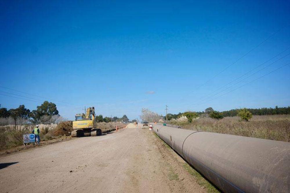 """Arroyo sobre el Acueducto del Oeste: """"Estas obras le cambian la vida a los vecinos"""""""
