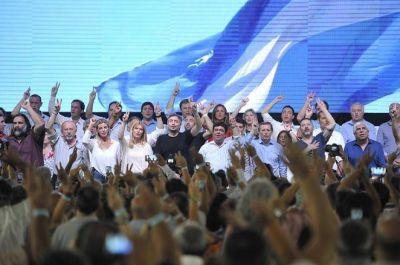 El peronismo da otra muestra de unidad este sábado con varios candidatos en la cancha